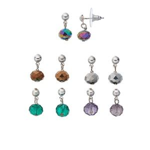 Croft & Barrow - Drop Earring Set